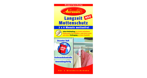 Aeroxon Langzeit Mottenschutz 2-er Set